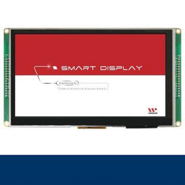 """WL0F0007000A8GXAASB00 7"""" Smart Display CAN TFT Elektronica Winstar"""