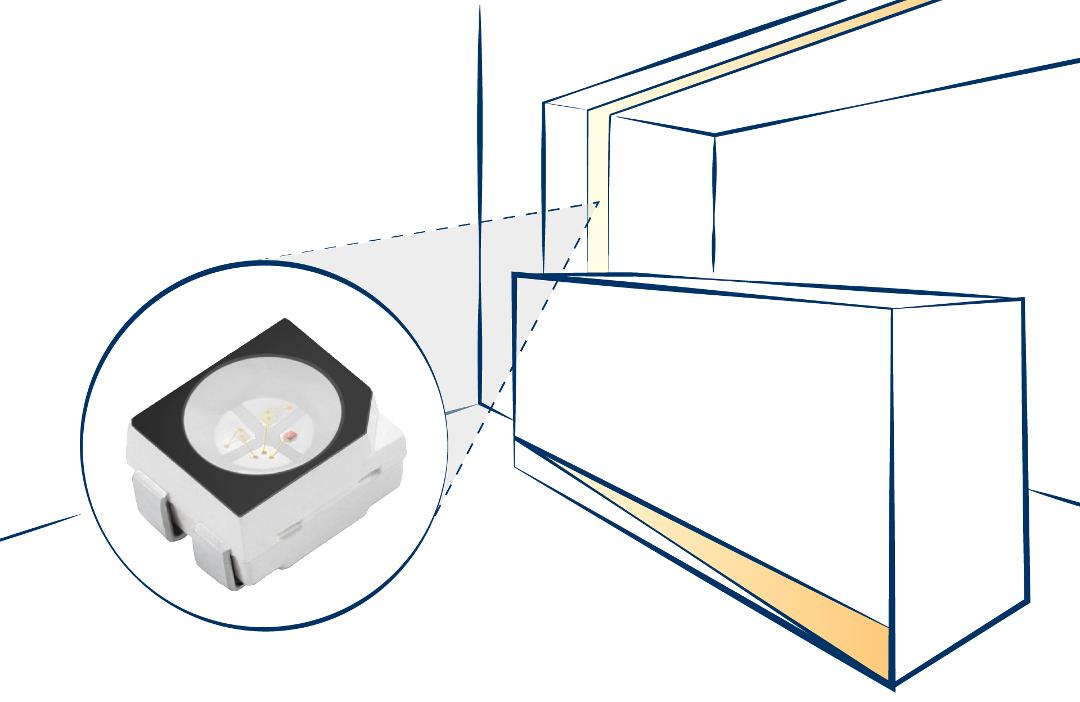 LED soluzioni customizzate per illuminazione ambiente