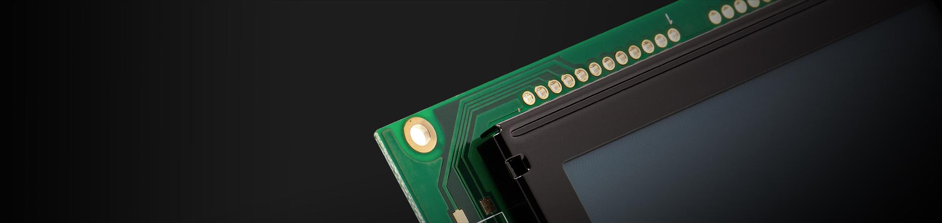 Oled LCD custom alfanumerico grafico touch screen